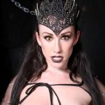 dark queen cosplay halloween gothic VR xxx
