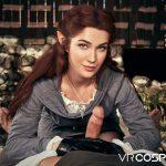 pretty elf girl blowjob virtual reality